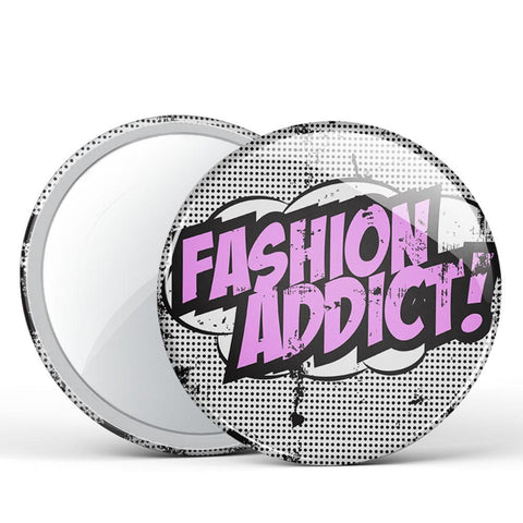 Fashion Addict! Button Mirror