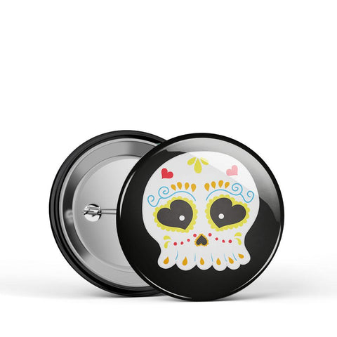Sugar Skull Button