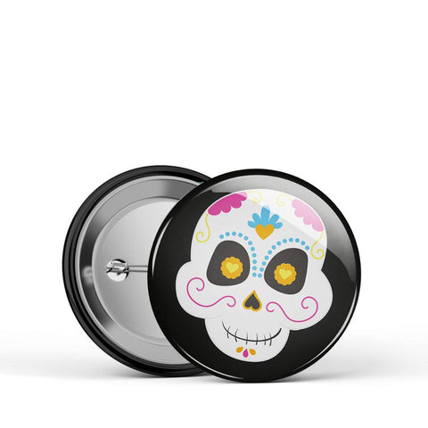 Sugar Skull 3 Button