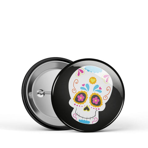 Sugar Skull 4 Button