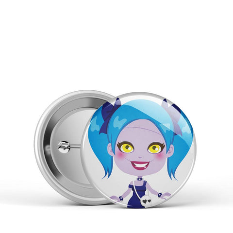 Made for Each Other Girl Button