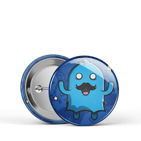 Blue Monster Button