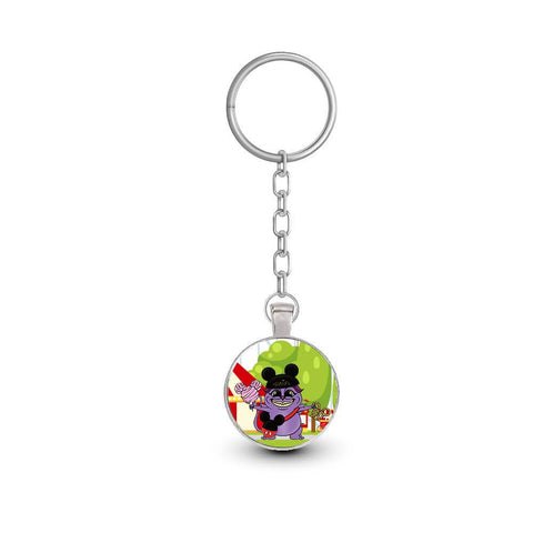Small Pain Framed Keychain | Keychain Artistic FlavorzArtistic Flavorz