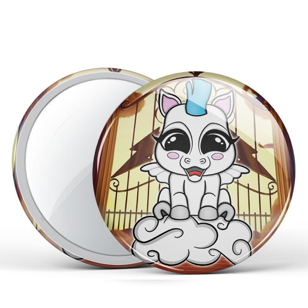 Baby Pegasus Pocket Mirror