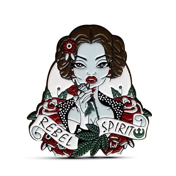 Rebel Princess Enamel Pin