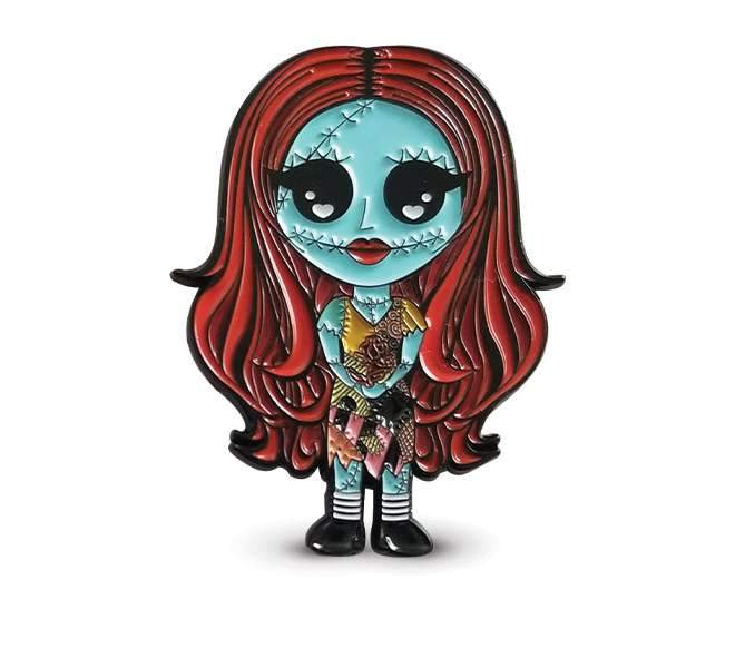 Sally Enamel Pin (Chibi Kawaii)