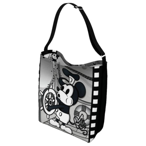 Steamboat Willie Crossbody Tote Bag