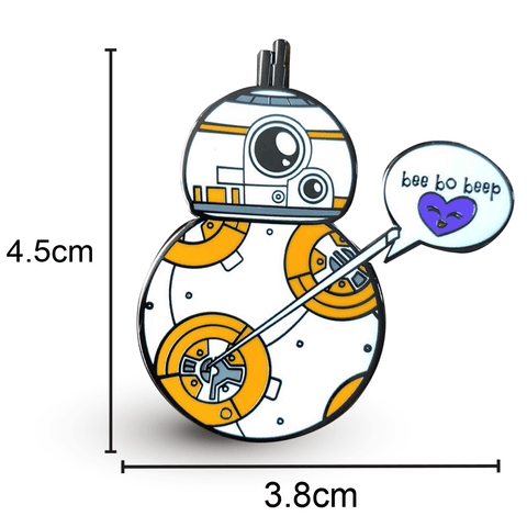 BB8 Enamel Pin