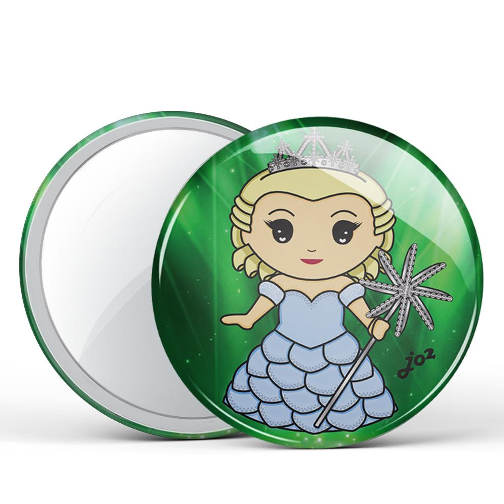 Glinda Button Mirror