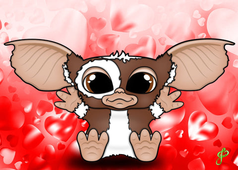 Gizmo - 5x7 Art Print by Jo2