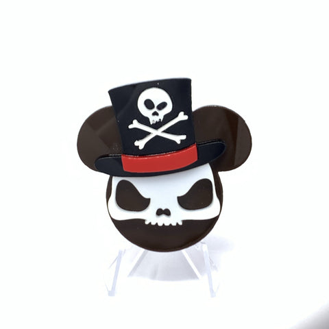 Dr. Voodoo Acrylic Character Mouse Brooch