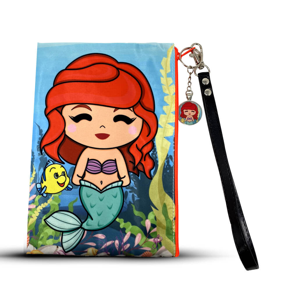 Mermaid Wristlet Bag