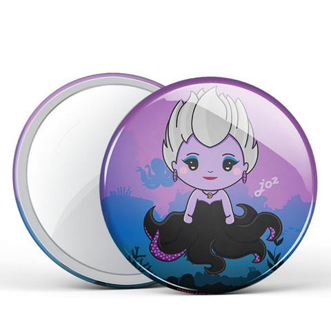 Sea Witch Button Mirror