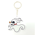 Ghost Dog Acrylic Keychain