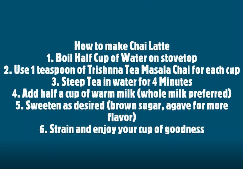 How to Make Chai Latte