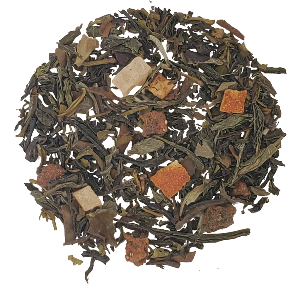 Load image into Gallery viewer, Lychee Peach Tea- Green