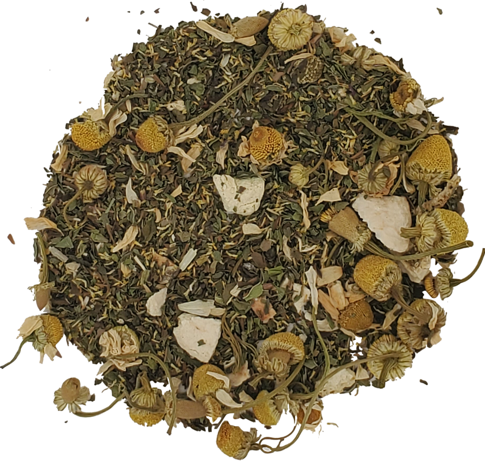 Load image into Gallery viewer, Chamomile Mint Tea Herbal