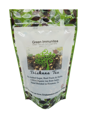 Load image into Gallery viewer, Green Immunitea- Ashwagandha