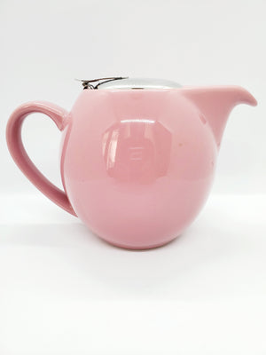 Load image into Gallery viewer, Pink Ceramic Tea Pot- Small