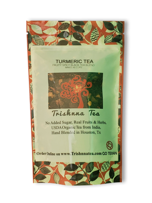 Load image into Gallery viewer, Turmeric Tea- Black