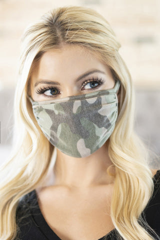 Unisex Camo Reusable