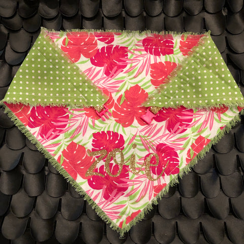 Pretty in Palm Beach Pet Bandana