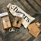 'Cheers' Cork Coasters
