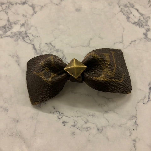 Upcycled Hair and Collar Bows