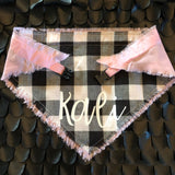 Bold Buffalo Check with Light Pink