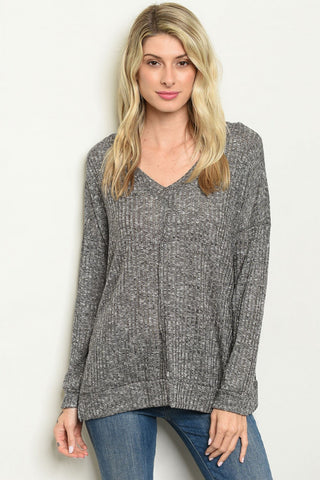 Charcoal Lightweight Sweater