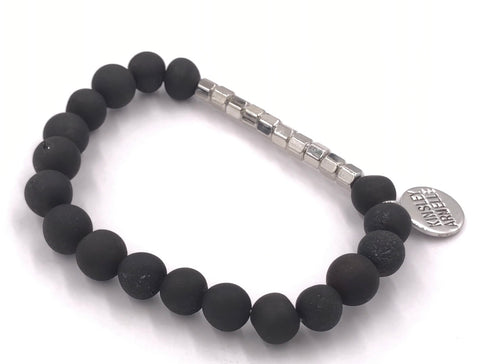 Raven Bracelet (Silver Burst Collection)