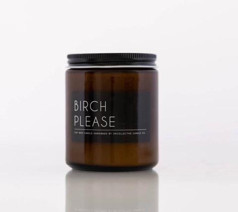 Birch Please Candle