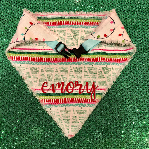 Christmas Trees & Lights Bandana