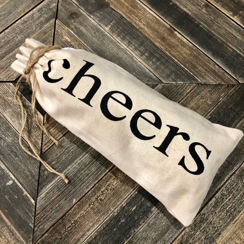 'Cheers' Canvas Bag