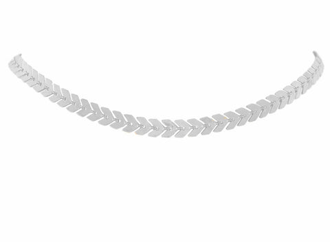 Lance Choker Necklace (Silver)