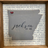 State Love Wooden Sign (FREE Customization!)