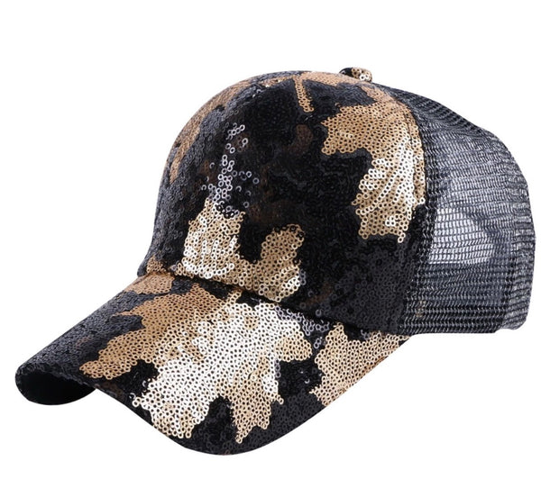 Women's Camo Leafs  Hat