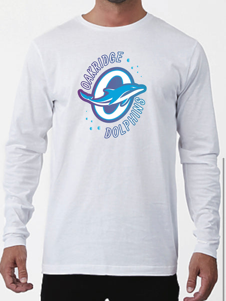 Oakridge Swim Team Long sleeve tee