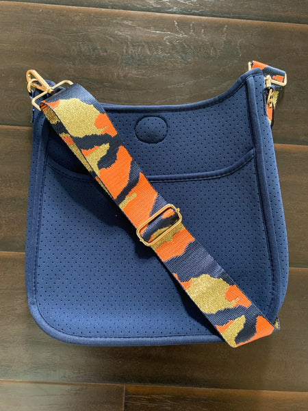 Navy St Pete's crossbody