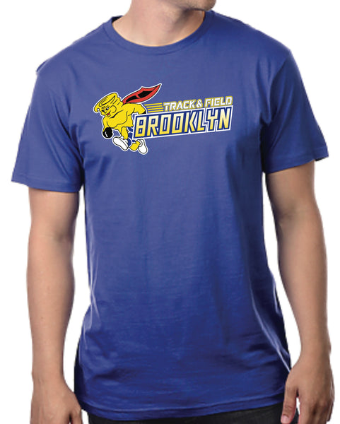 Brooklyn blue track tee