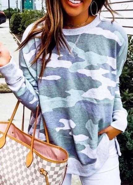 My favorite camo sweatshirt