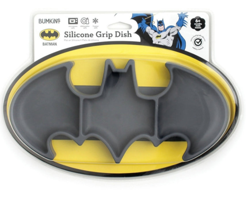 Silicon Grip Dish - Batman