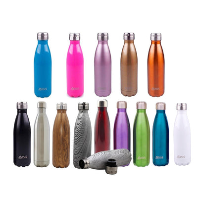 Oasis Stainless Steel Double Insulated Drink Bottles 500ml
