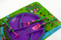 Constructive Eating-Garden Fairy 3 Piece Cutlery