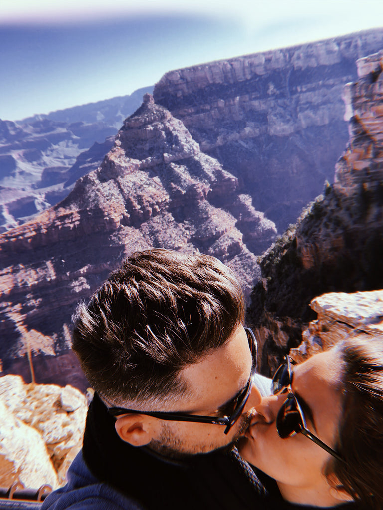 Hubs & Hers visits the Grand Canyon