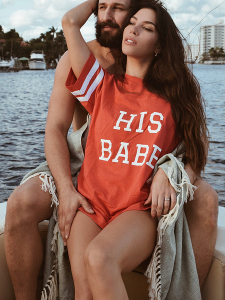 His Babe | Sleep Tee
