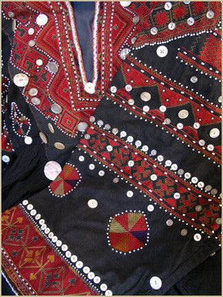 Exceptional Jumlo Embroidered Tunic from Kohistan