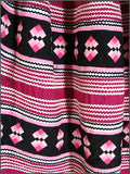 Intricate Seminole 4 Row Patchwork Skirt