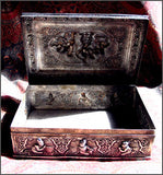 Exquisite Burmese Silver Box