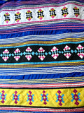 Stunning 4 Row Patchwork Seminole Skirt